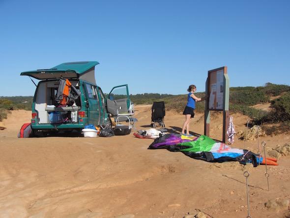 Road Trip Kite Family vacances