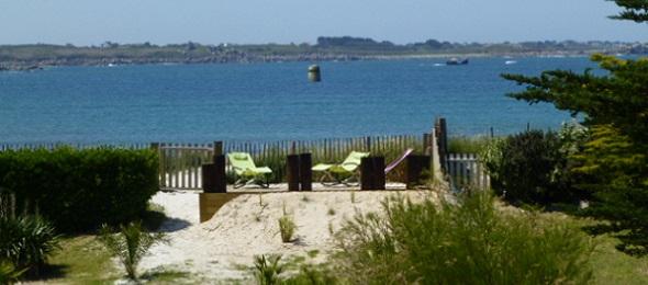 La plage du dossen au bout du jardin for Au bout du jardin