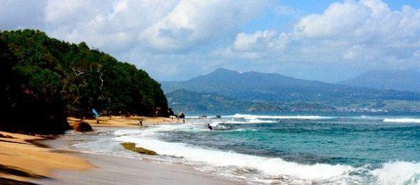 Tartane spot surf Martinique