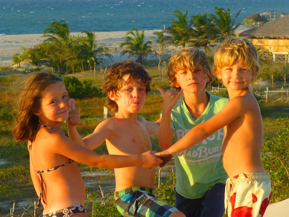 Praia do Prea Brésil kitesurf vacances famille