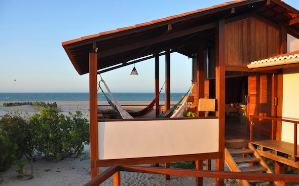 Praia do Prea Brésil maison plage vue mer