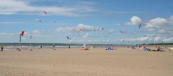 Saint Brévin kite spot