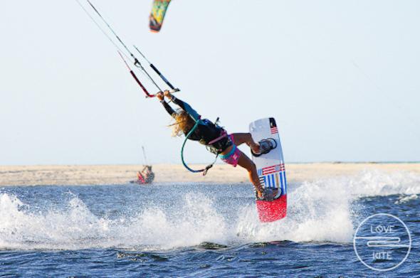 Brésil Uruau kitesurf Agata
