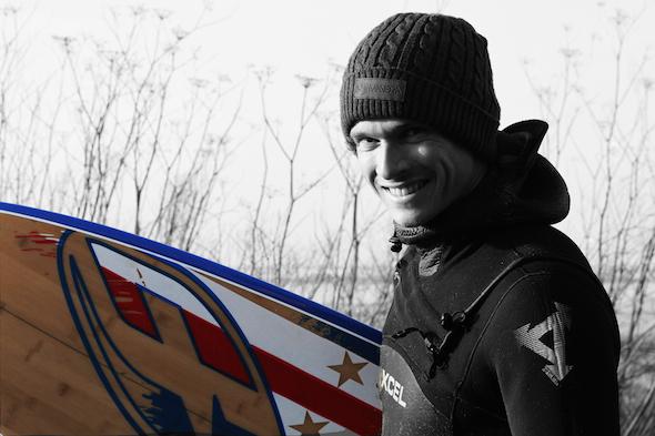 Etienne Lhote kitesurf pro