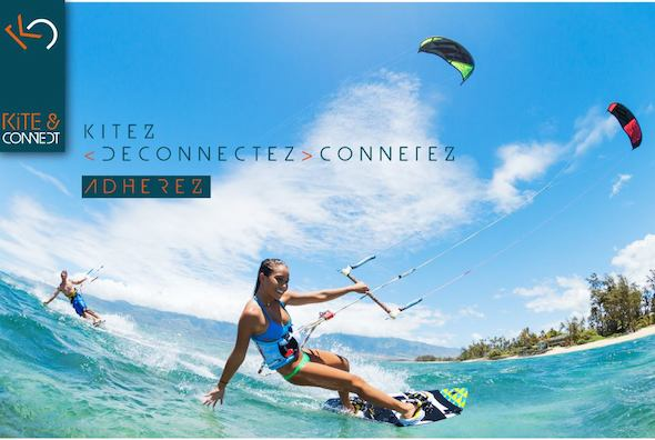 Kite and Connect tagline