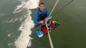 Kitesurf freestyle old school John