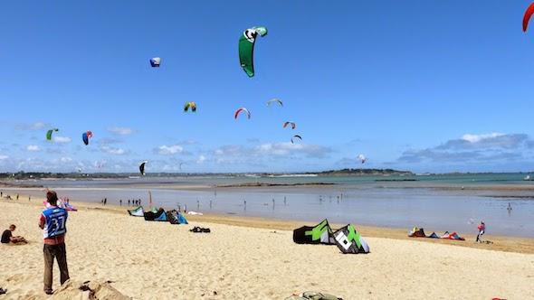 Saint Cieux kitesurf bretagne spot Saint Malo