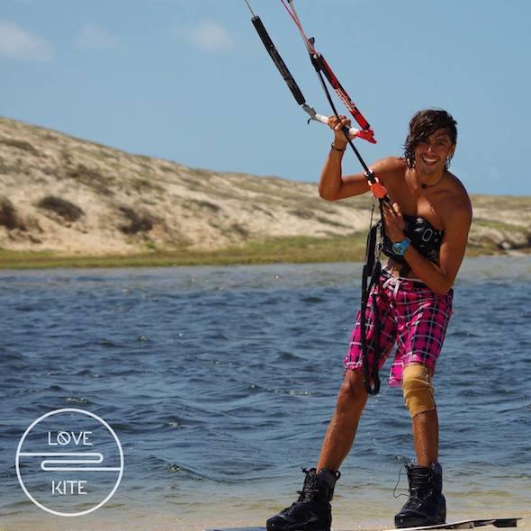 kite Uruau Brésil freestyle Adrien
