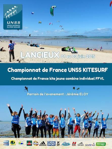 CDF kite jeunes combiné ffvl