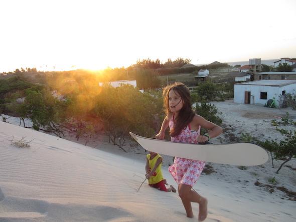 Casa Estrela do Mar kids dunes