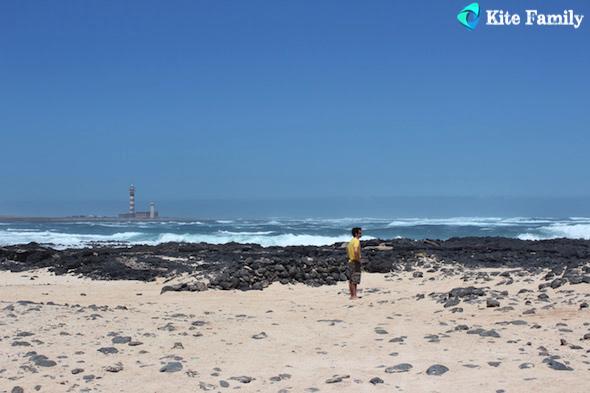 El Cotillo trip kite Fuerte