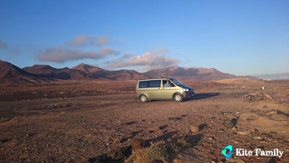 Fuerteventura Jandia Kite Family raodtrip