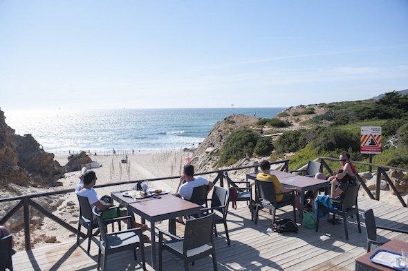 Guincho resto bar plage