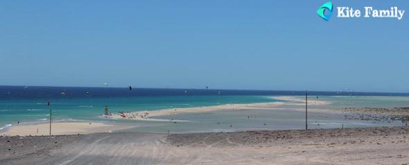 Sotavento paradis kitesurf Fuerte
